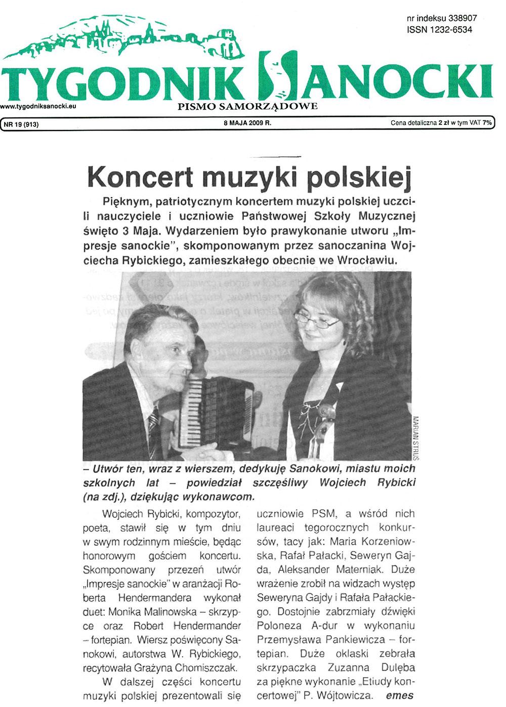 Prasa-Koncert-muzyki-polskiej